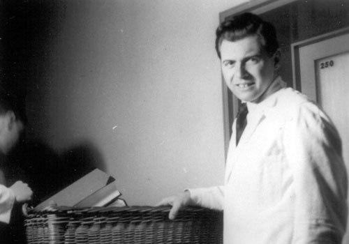Nazi Dr. Mengele did sick genetic experiments on humans...