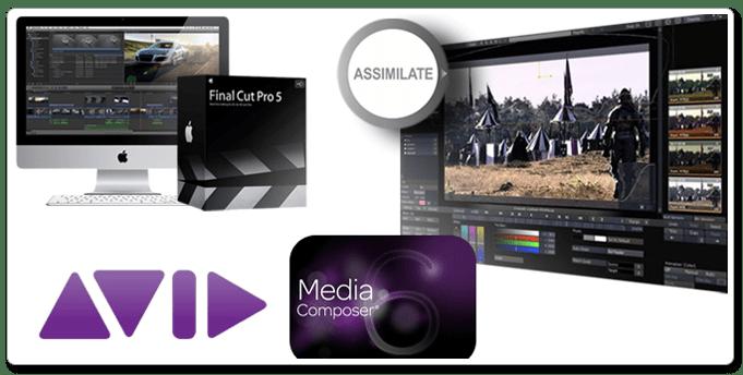 Editing & Finishing - Editing platforms