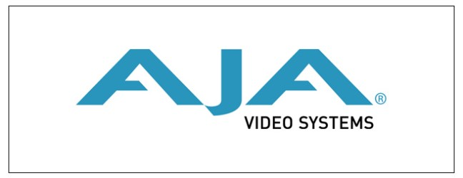 AJA – New Products Announced at IBC 2012