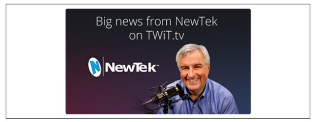 Hey Ustream :: come admire NewTek's line of TriCaster all-in-one live video production and encoding products