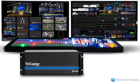 NewTek TriCaster 8000 :: VidCom