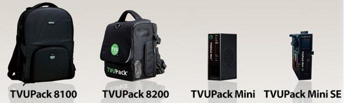 TVUPack - Broadcast Live over 3G or 4G cellular backpacks :: VidCom
