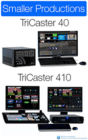 TriCaster :: Small Video Productions :: VidCom