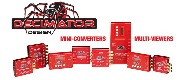 Decimator Mini-Converters & Multi-Viewers