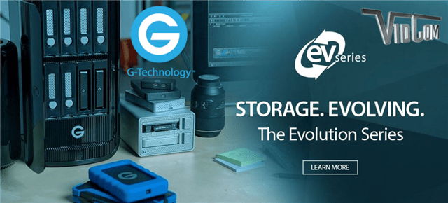 Capture and Store with G-Technology