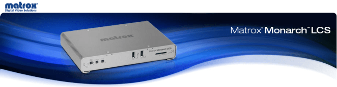 Matrox Monarch - Lecture Capture System