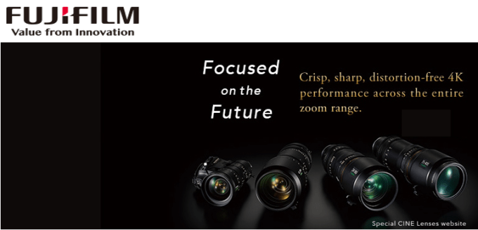 Fujifilm - Focused on the Future