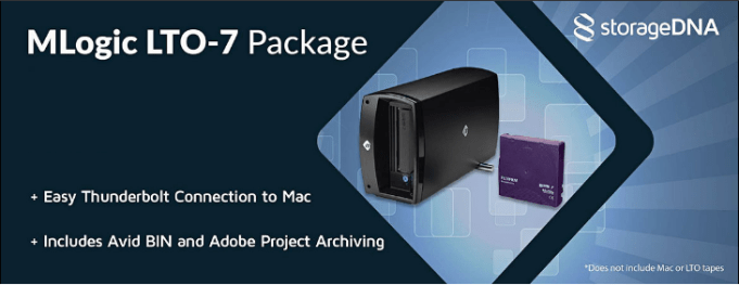 Storage DNA MLogic LTO-7 Package