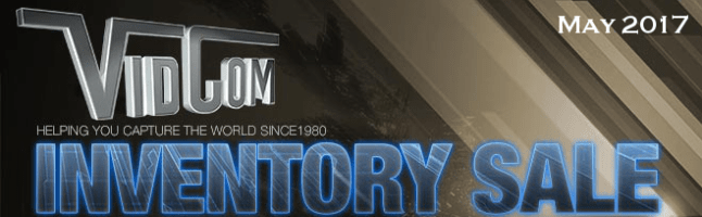 VidCom Fiscal Year-End Inventory Sale