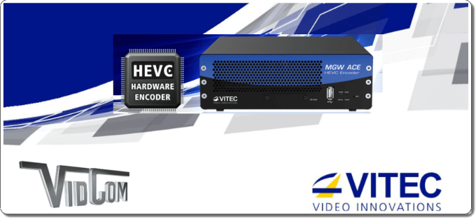 Encoding, Transcoding & Streaming - Vitec HEVC Encoders