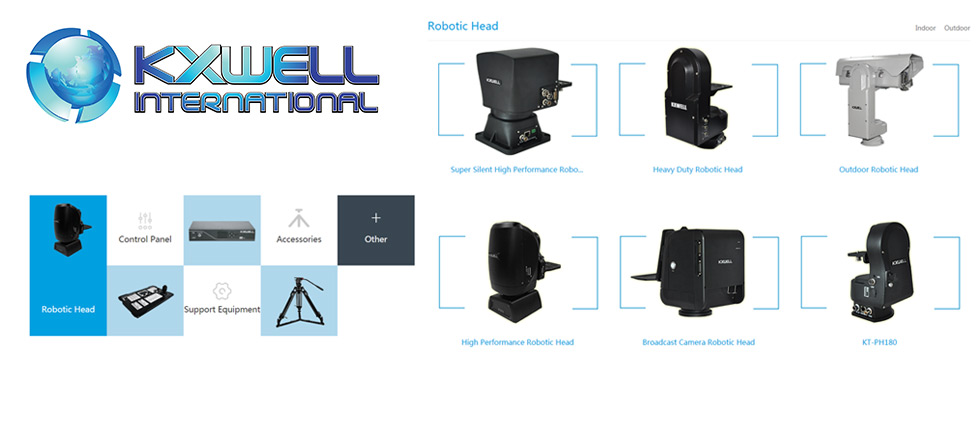 KXWell :: Robotic Heads and Control Panels