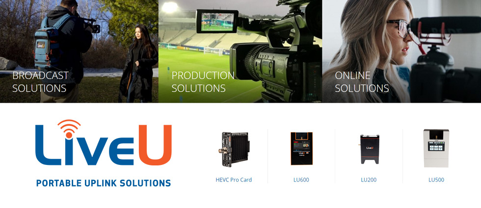 LiveU :: Portable Uplink Solutions