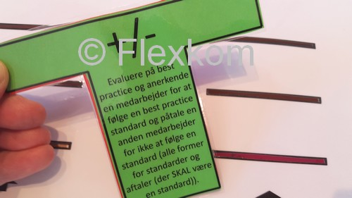 Endnu et vigtigt T-kort til en leder i en Lean proces