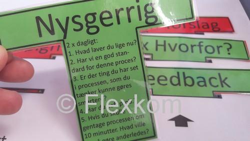 Eksempel på et T-kort til en leder