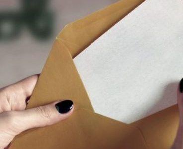 Cómo enviar una carta por Correo Postal