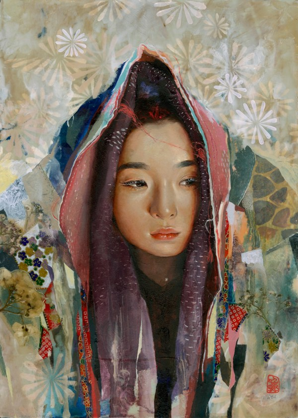 Hyperrealistic Oil Paintings Highlight Blossoming Young