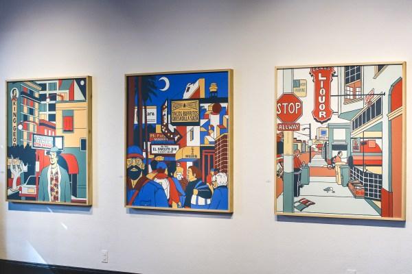 Colorblocked Pop Art Paintings Celebrate Californian Diner Culture - Creators