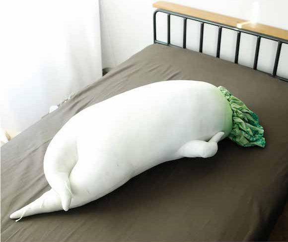 giant daikon body pillow