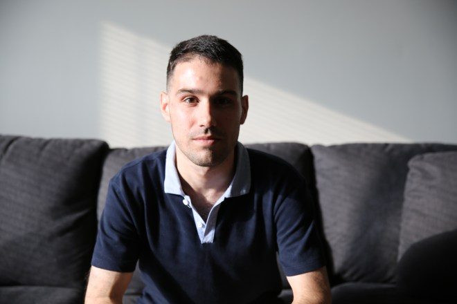 Adam Lackman of TVAddons in his Montreal apartment.