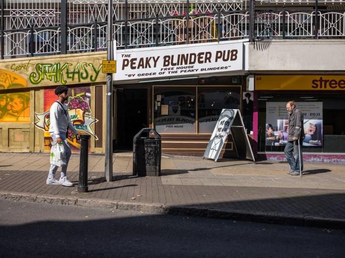 peaky blinders pub birmingham