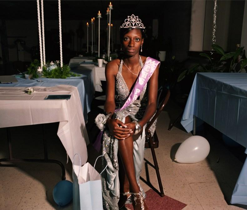 © Gillian Laub Courtesy of Benrubi Gallery Lacy, the black prom queen, Mount Vernon, Georgia, 2008