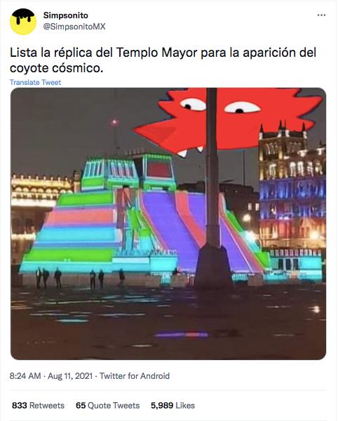 Templo Mayor meme