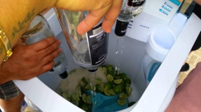 Quand votre machine à laver devient une usine à cocktails
