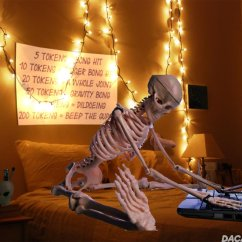 Wake Me Up Inside Skeleton Chair Meme Cheap Folding Table And Chairs Set A Brief History Of Memes Motherboard