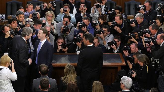 Risultati immagini per zuckerberg us senate