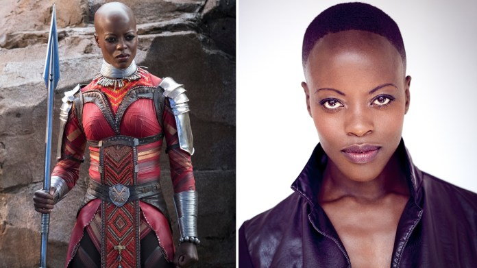 Image result for Florence Kasumba – Black Panther
