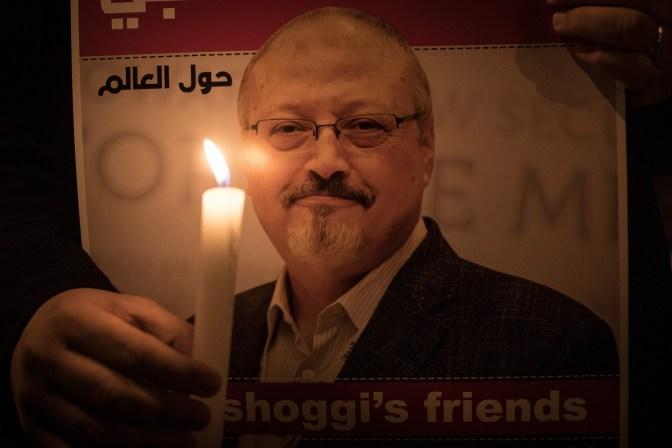 "VICE News Khashoggi's last words: ""I can't breathe, I can't breathe."""