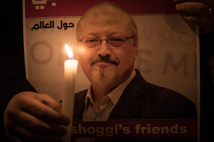 "VICE News Khashoggi's last words: ""I can't breathe, I can't breathe."""