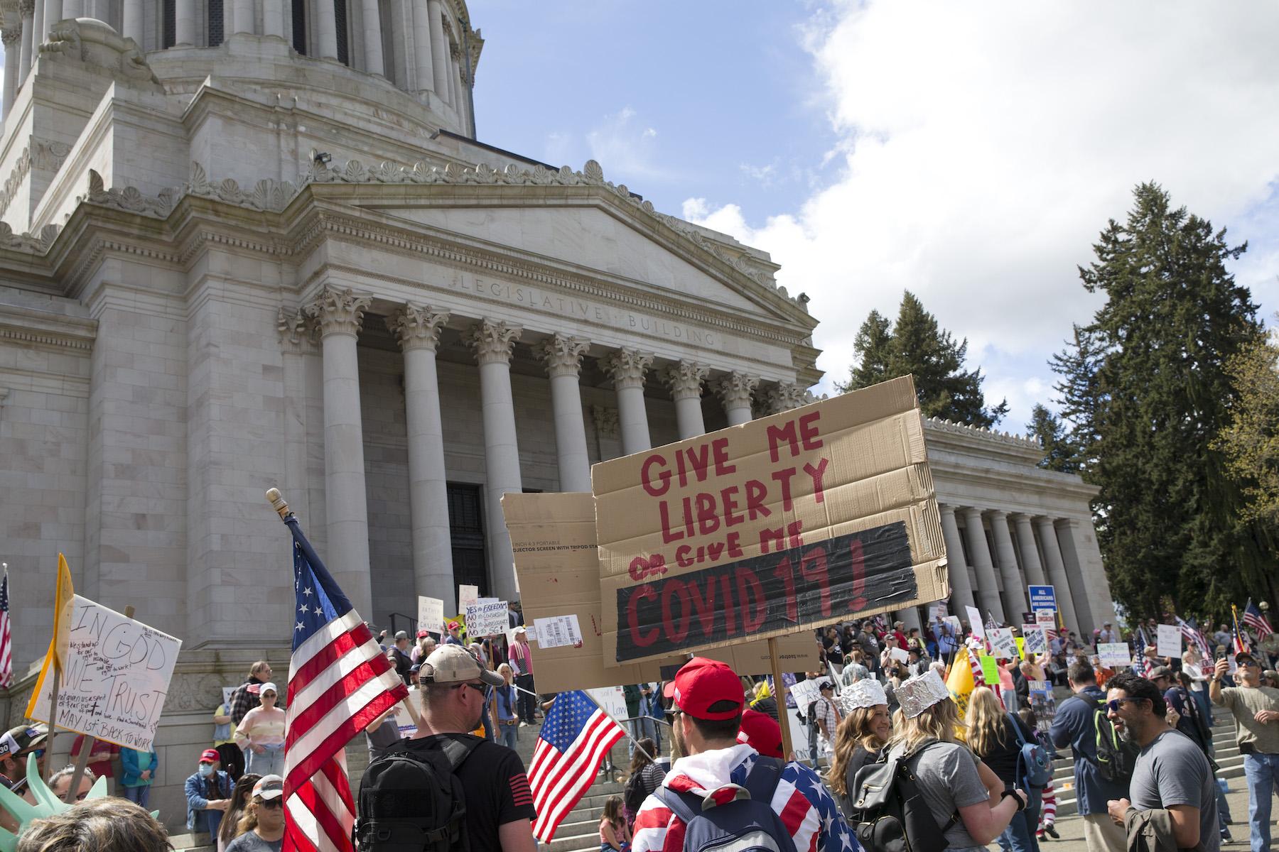 Lockdown Protest Usa Guns