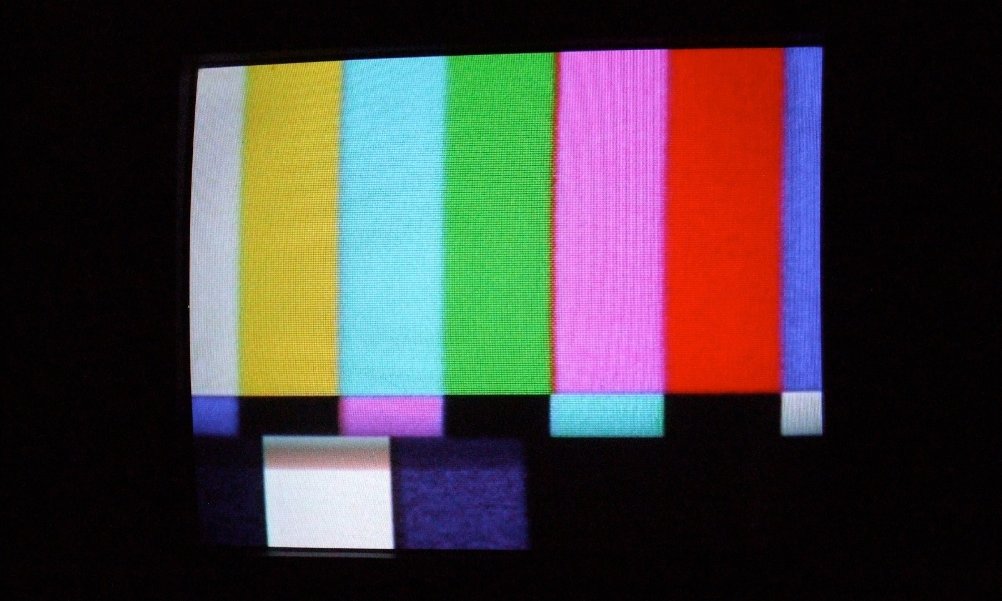 The History of TV Colour Bars, One of the First Electronic Graphics Ever Made