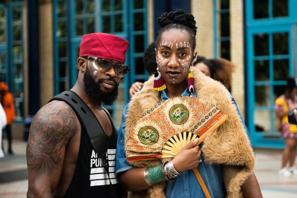Afropunk Festival Fashion Week Trash - Noisey
