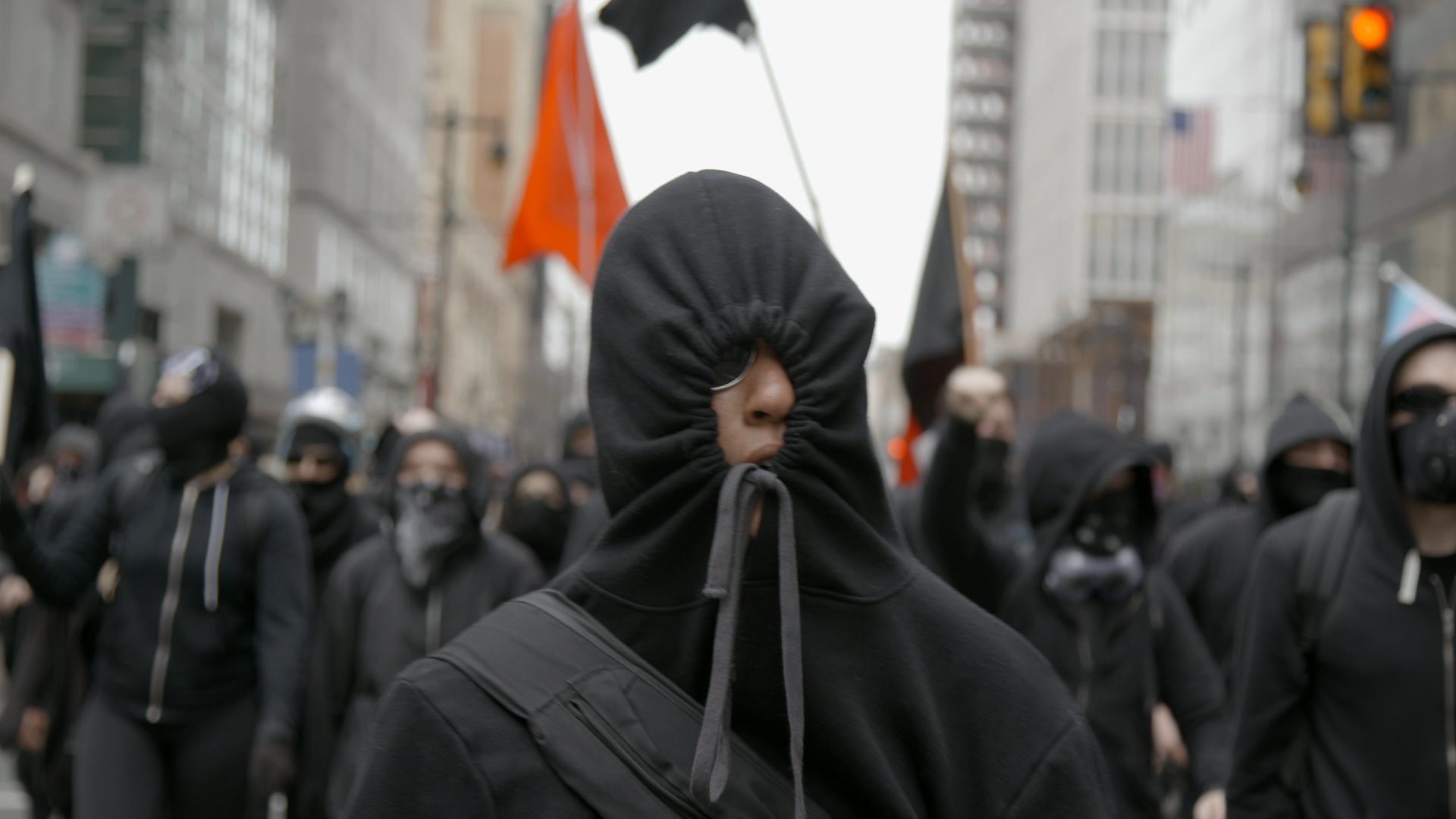 Philadelphia In The Fall Wallpaper The Black Bloc Inside America S Hard Left Vice Video