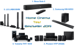 Home Cinema Test – Bestseller 2019