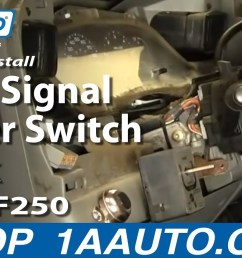 how to replace combination switch 02 07 ford f250 super duty truck 1a auto [ 1280 x 720 Pixel ]
