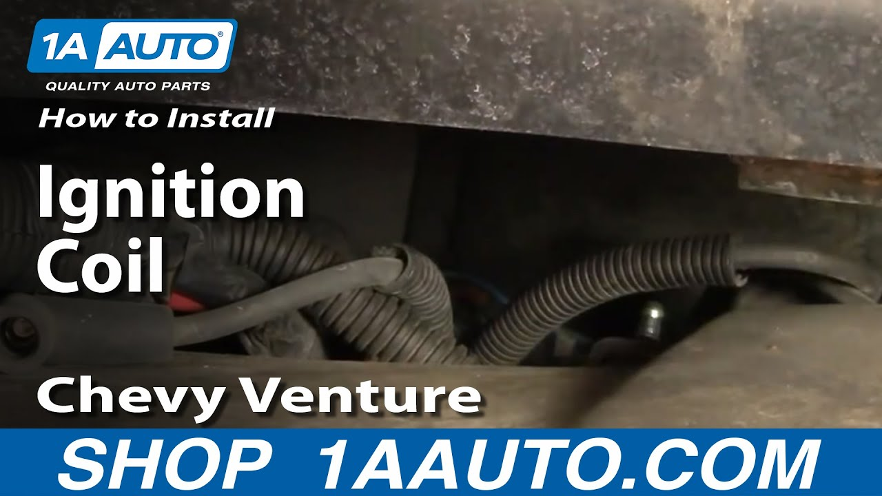 hight resolution of how to replace ignition coil 97 04 chevy venture and pontiac montana 1a auto