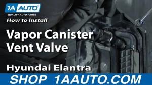 How to Replace Vapor Canister Vent Valve 9606 Hyundai Elantra   1A Auto