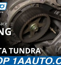 how to replace toyota tundra timing belt 2002 v8 disassemble front of engine part 1 1aauto com 1a auto [ 1920 x 1080 Pixel ]