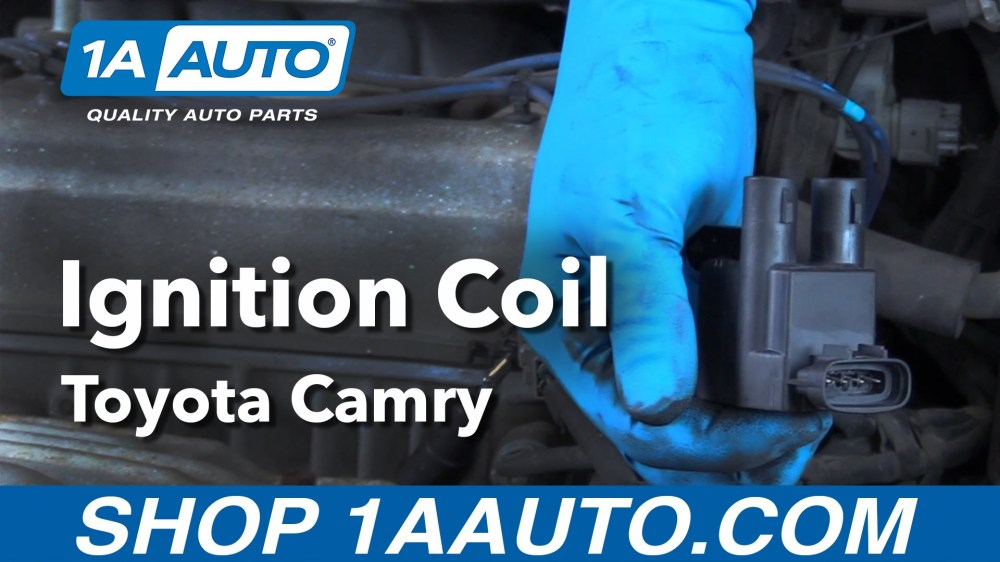 medium resolution of how to replace ignition coils 97 01 toyota camry