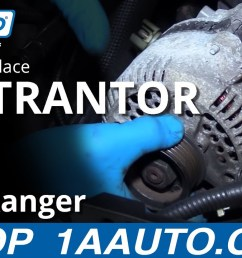 how to replace alternator 98 12 ford ranger 4 0l v6 [ 1280 x 720 Pixel ]