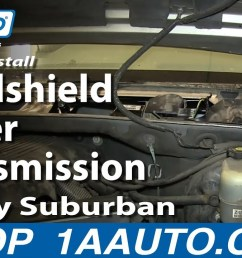 how to replace windshield wiper transmission 99 03 chevy silverado 1a auto [ 1280 x 720 Pixel ]