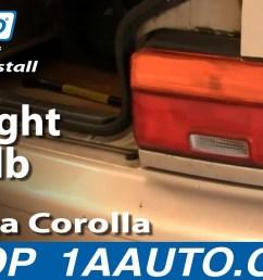 2002 toyotum celica tail light problem [ 1280 x 720 Pixel ]