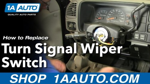 small resolution of how to replace turn signal wiper switch chevy suburban 88 98 1 part 1