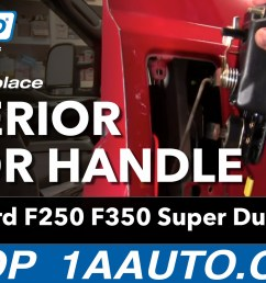 how to replace exterior door handle 99 15 ford f250 super duty 1a auto ford f350 front end diagram autos weblog [ 1920 x 1080 Pixel ]