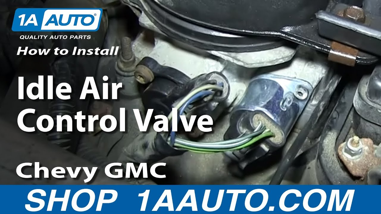 86 Venture Wiring Diagram How To Replace Idle Air Control Valve 96 00 Chevy Tahoe