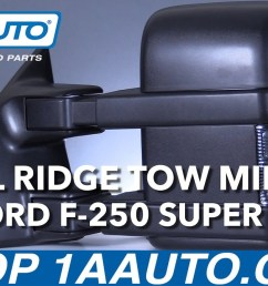 trail ridge ford towing mirror installation instructions trmrp00020 1a auto [ 1280 x 720 Pixel ]