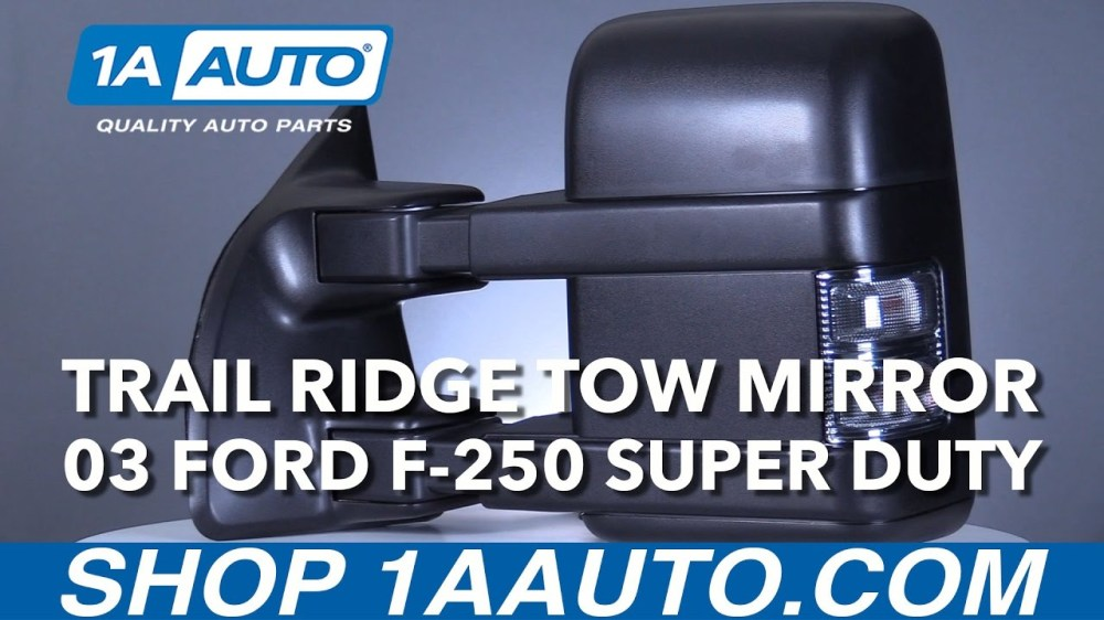 medium resolution of trail ridge ford towing mirror installation instructions trmrp00020 1a auto